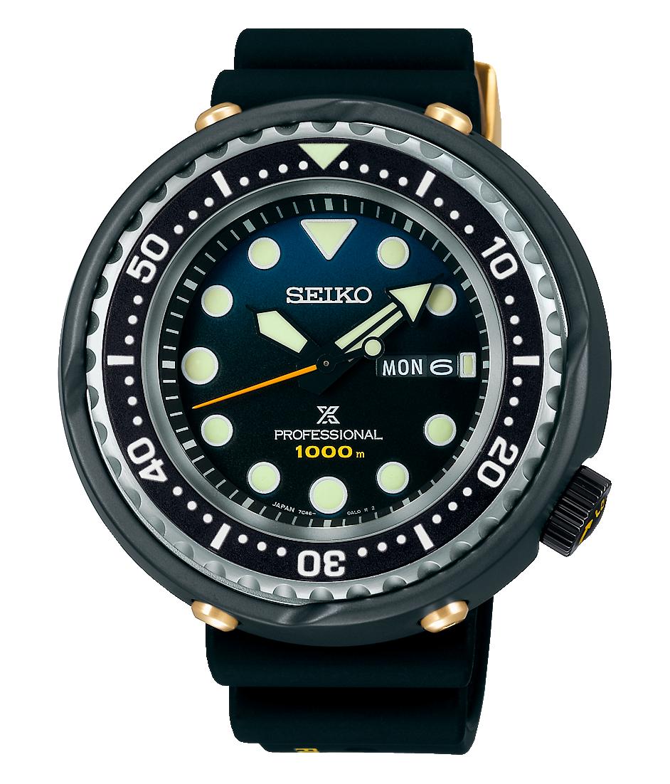 reloj diver's seiko prospex 2021 35 años primer 1000m 1986 S23635J1