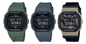 Edicion limitada reloj g-shock camuflaje 2 correas DW5610SUS-5