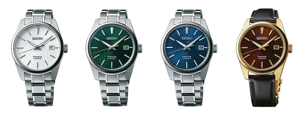 relojes Seiko Sharp edged nuevos 2020