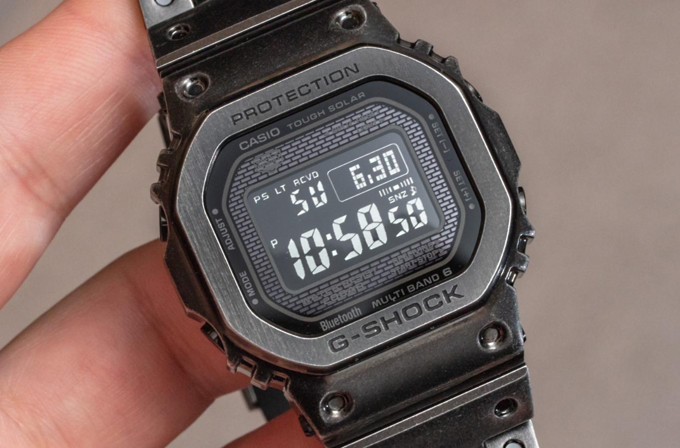 Edicion limitada reloj casio G-Shock GMW-B5000V