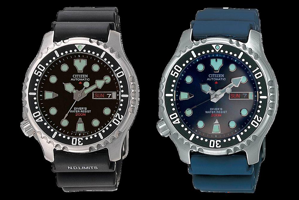 Reloj Citizen promaster automatico 200m modelo  NY0040-09EE