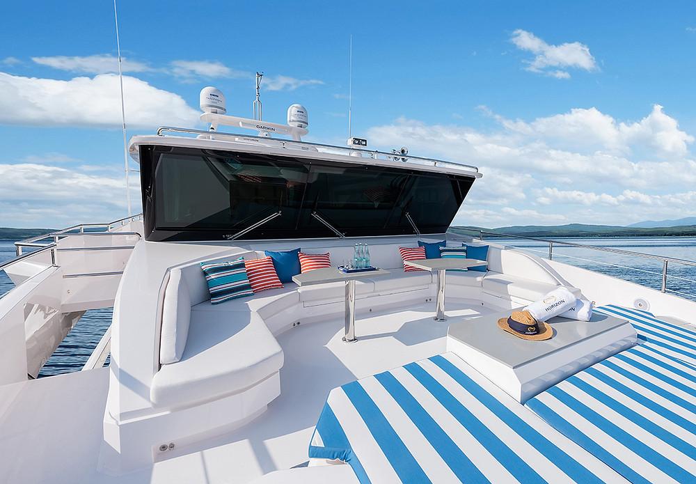 Embarcacion gran eslora Horizon Yacht FD90 en venta disponible 2022