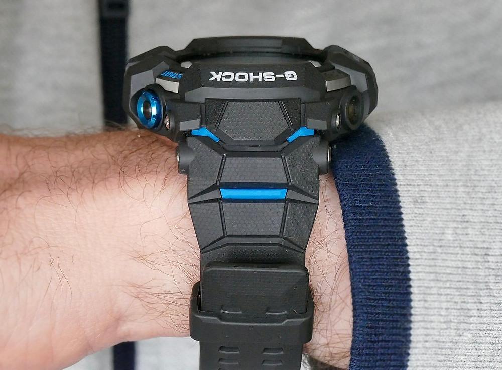 Detalle-correa smartwatch novedad G-Shock GSW-H1000