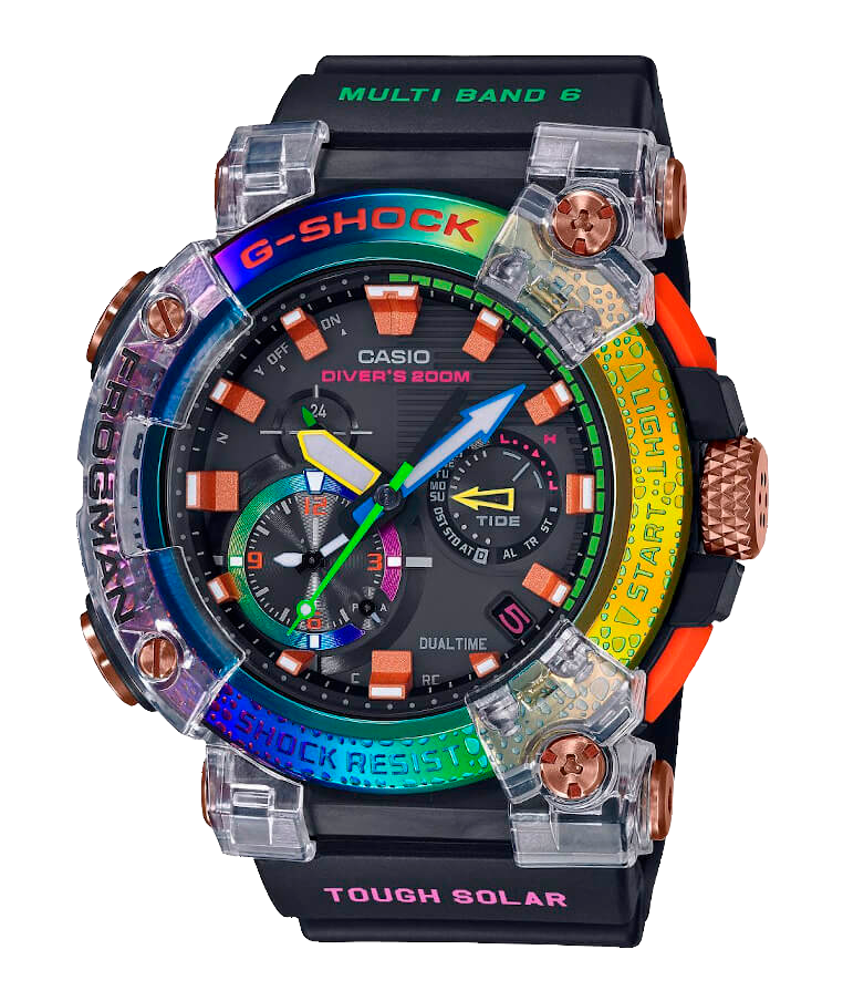 reloj divers g-shock GWF-A1000BRT edicion limitada 2000 piezas