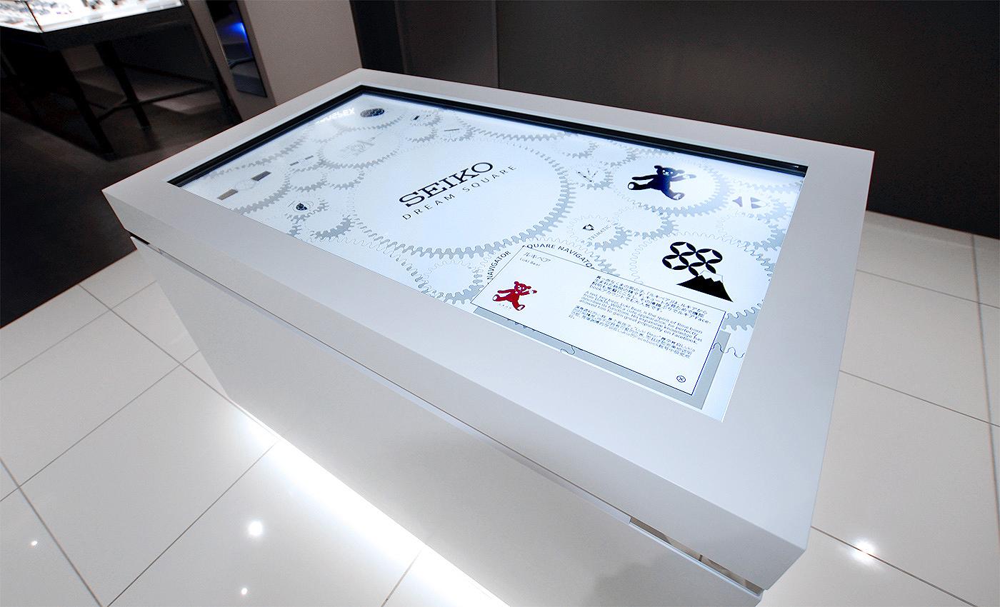 Espacio interactivo Seiko prospex en tienda Dream Square