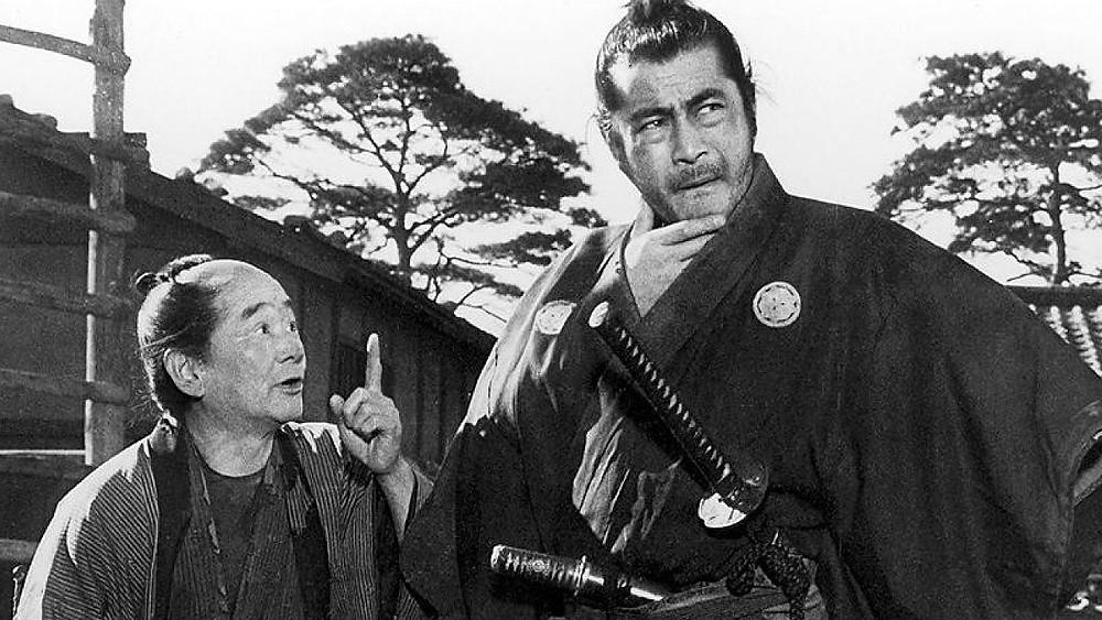 Pelicula de culto japonesa Yojimbo 1961