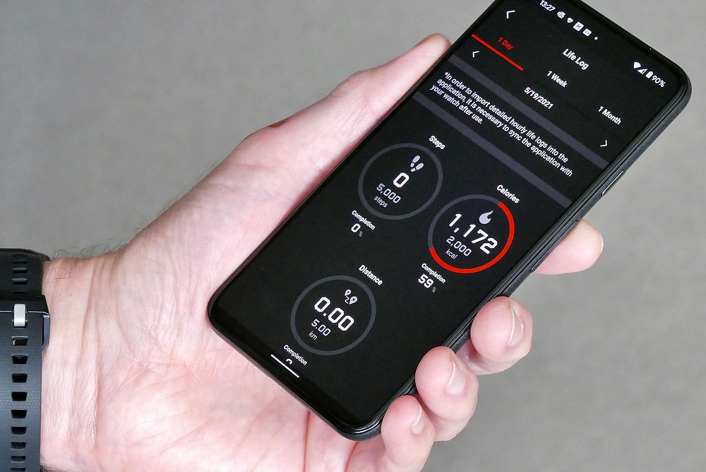 app move para reloj smartwatch g-shock gsw-h1000
