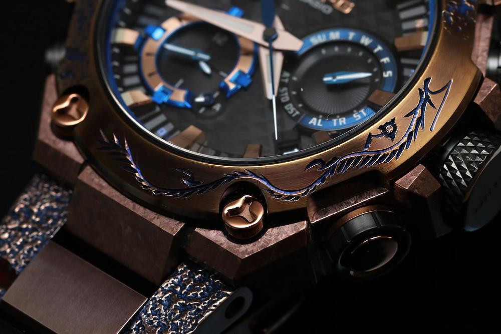 alta relojeria japonesa modelo MTG referencia MRG-B2000SH