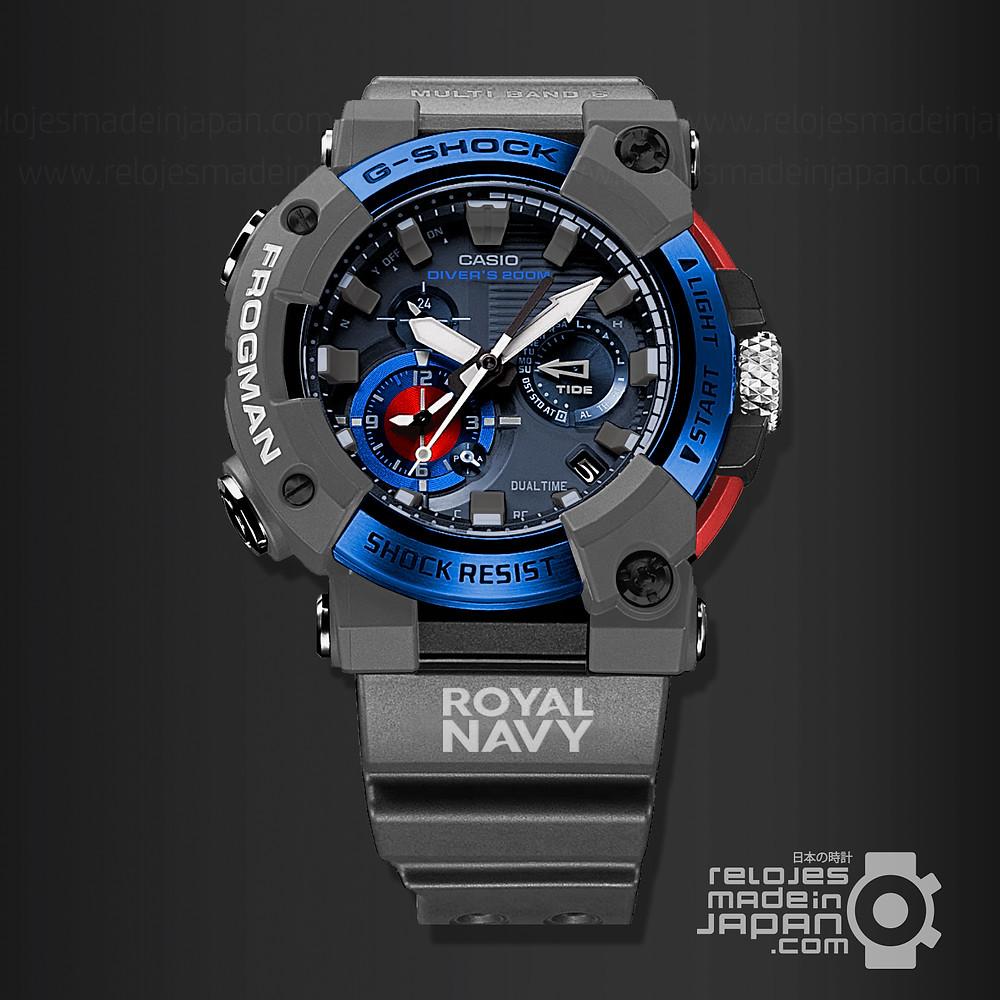 elocubración del nuevo reloj diver G-Shock Frogman gwfa1000rn8