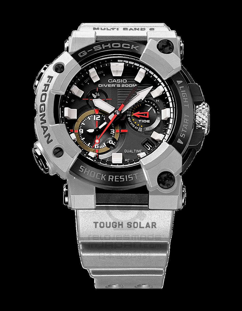 reloj instrumento G-Shock Frogman GWF-A1000RN-8AER para buceo edición limitada Royal Navy 2021