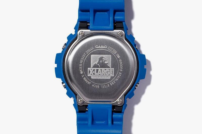 Detalle reloj dw6900fs edicion limitada X-Large 2019