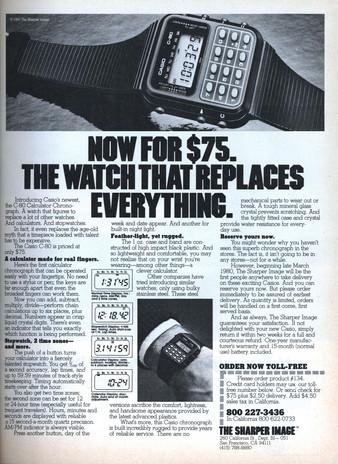 Reloj Calculadora: un icono de Casio