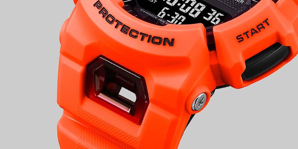 correa reloj deportivo gba900 casio g-shock con ventilaciones