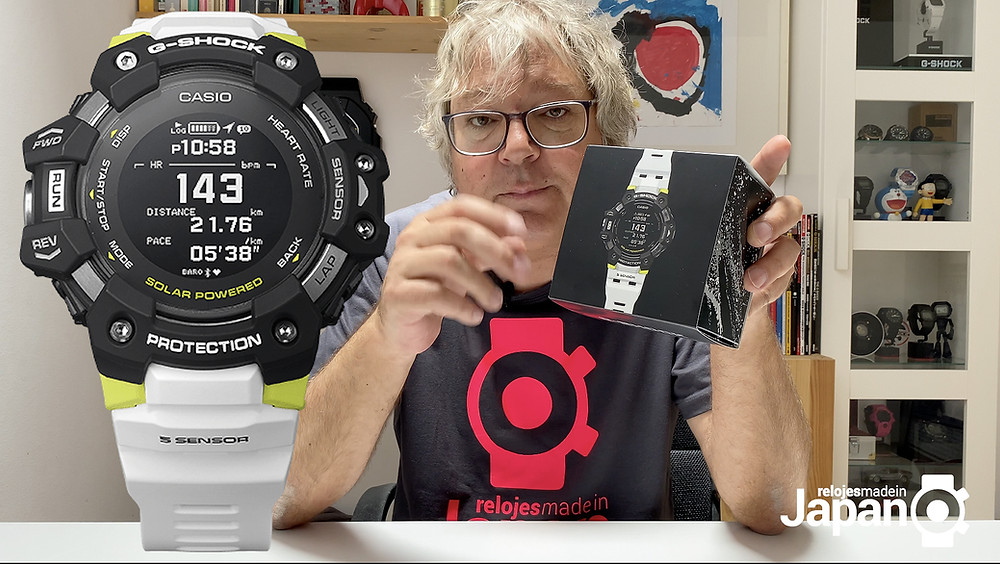 Video Review reloj modelo GBD-H1000 de Casio G-Shock en castellano