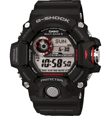 G-SHOCK Rangeman GW-9400-1ER, modelo triple sensor
