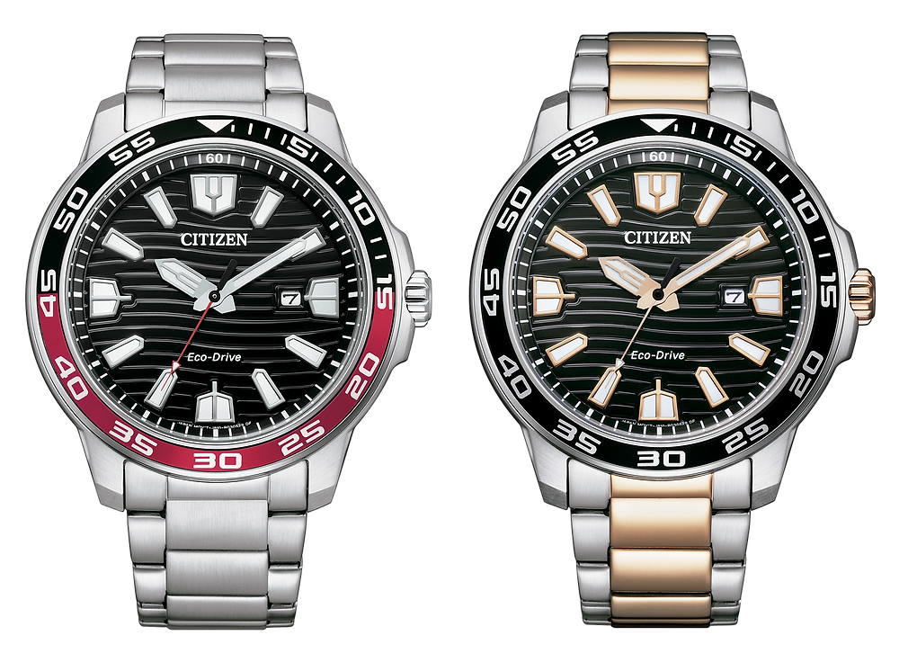 reloj novedad 2021 de citizen of collection WR 100m AW1524-84E