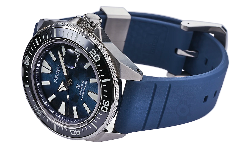 detalle correa de nuevo diseño relojes  seiko king turtle y seiko king samurai 2021