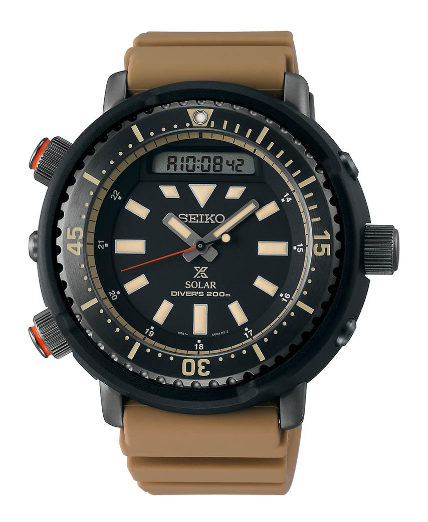 Nuevo reloj Seiko prospex Arnie SNJ029 color desierto verano 2020
