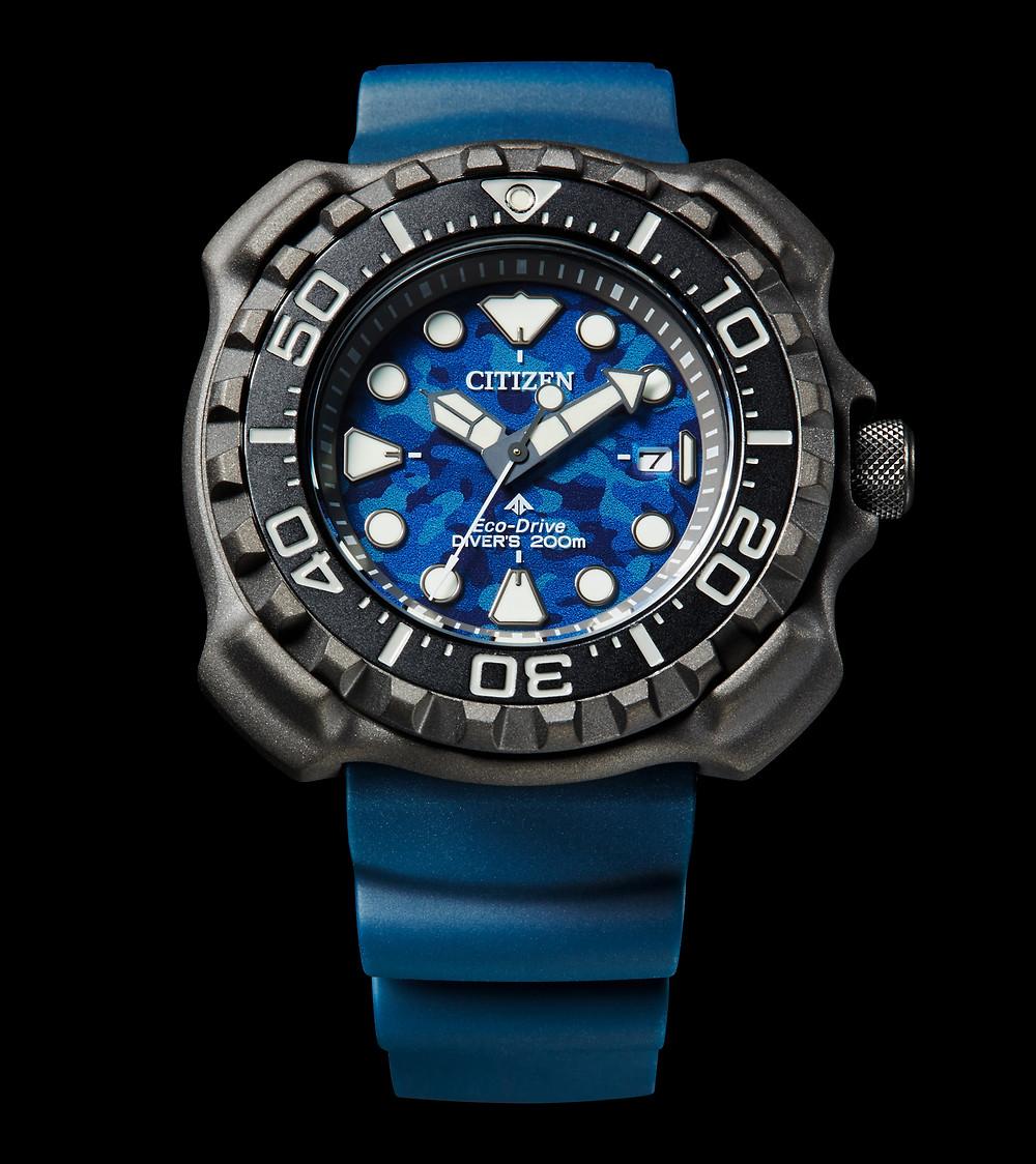 BN0227-09L reloj diver citizen promaster re-creacion 1982 super titanium ecodrive 200m novedad 2021