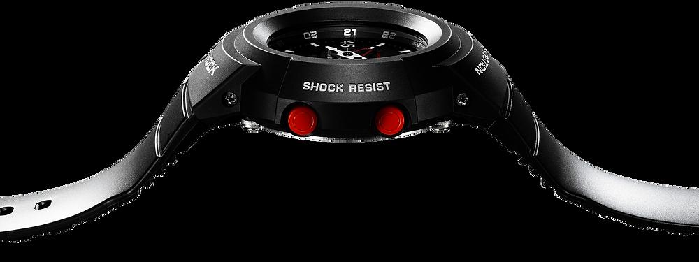 novedad reloj de acero g-shock awm-500d solar multiband6