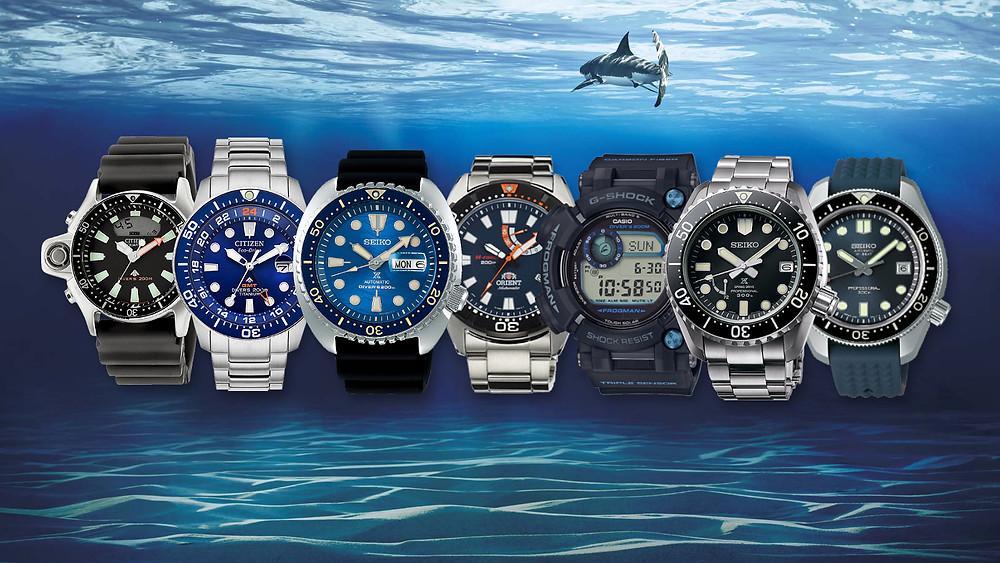 7 relojes diver's que puedes comprar en 2020
