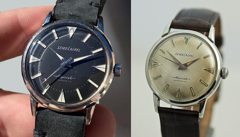 reloj seiko laurel alpinist 1961 historia modelo