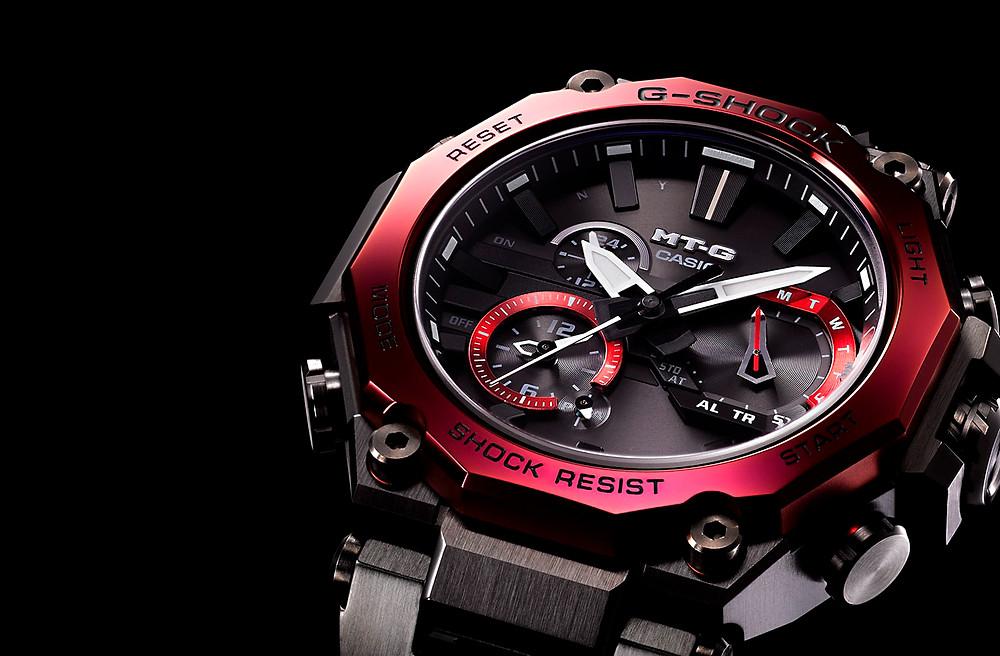 Nuevos relojes Casio MTG refencia MTG-B2000