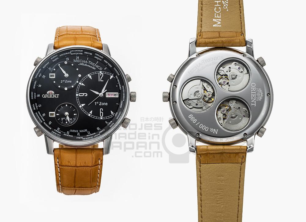 orient mecha-trenics reloj con 3 movimientos automaticos edicion limitada 2014