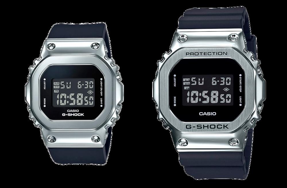 nuevo g-shock para ellas mas pequeños gm-s5600
