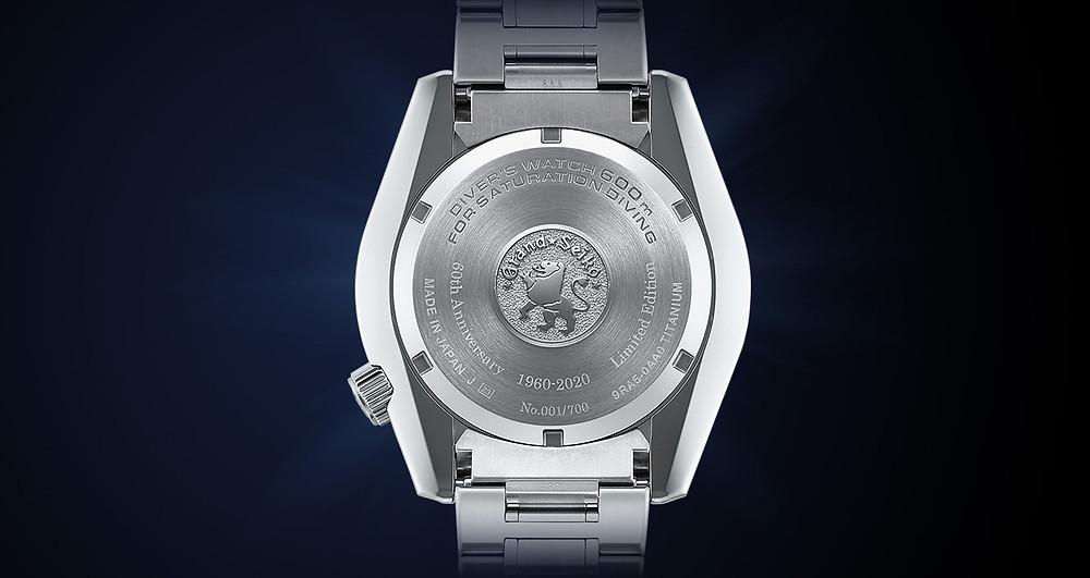 SLGA001 reloj Grand Seiko Profesional 600m 60th SLGA001