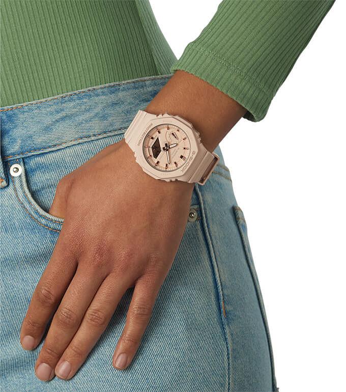 G-Shock GMA-S2100 reloj de moda para ellas
