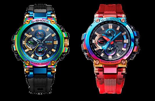 relojes MTG B1000RB-2A y MTG-B1000VL