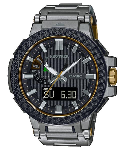 Reloj triple sensor, titanio, zafiro edicion limitada casio Protrek PRX-8025HT-1