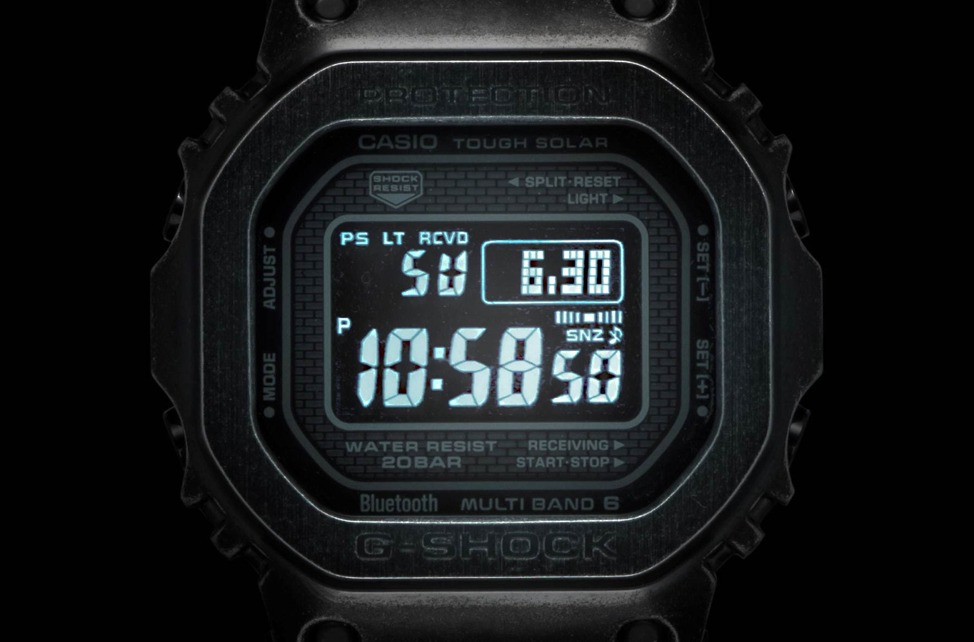 Pantalla LCD reloj G-SHock edicion limitada GWM-B5000V