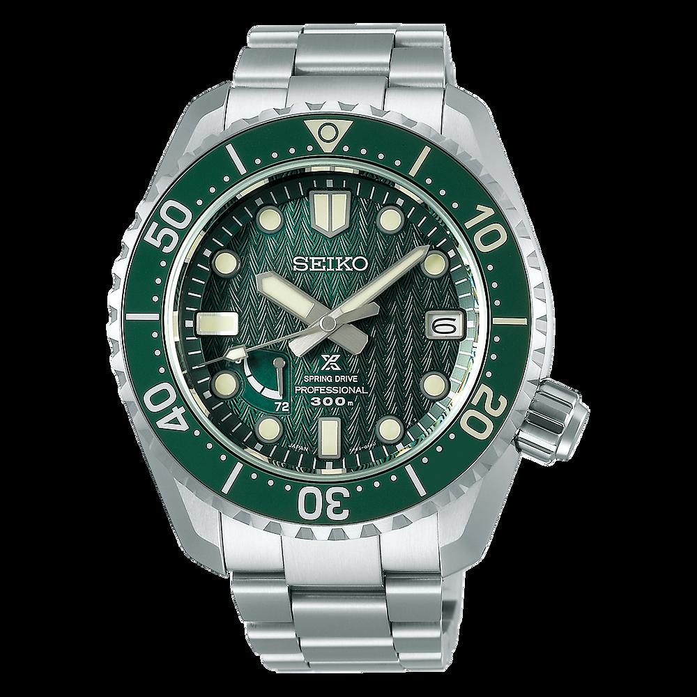 Reloj Prospex LX edicion limitada verde SNR045J1 con caja titanio y calibre spring-drive 5R65