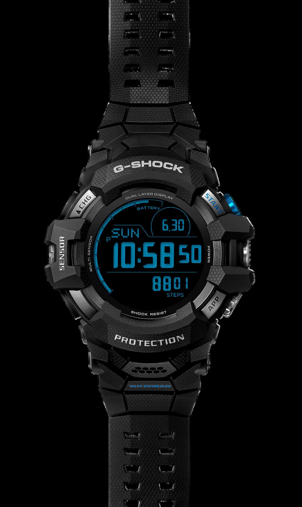 primer casio g-shock con wear os by google de la historia desde 1983 primer g-shock dw5000