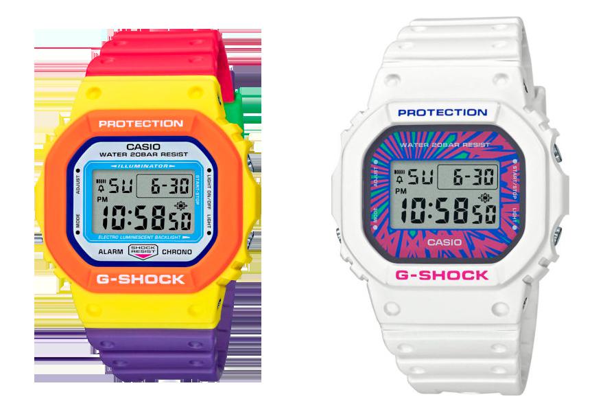 DW-5610DN-9 reloj G-Shock verano 2020 multicolor