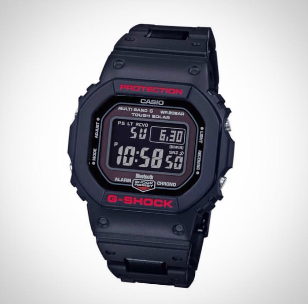 reloj G-SHOCK nuevo modelo GW-B5600HR novedad 2019