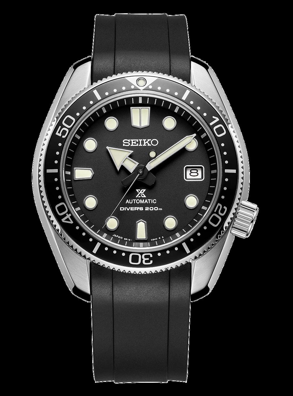 Reloj Seiko SPB077 con correa Crafter blue CB13 ajustada a caja