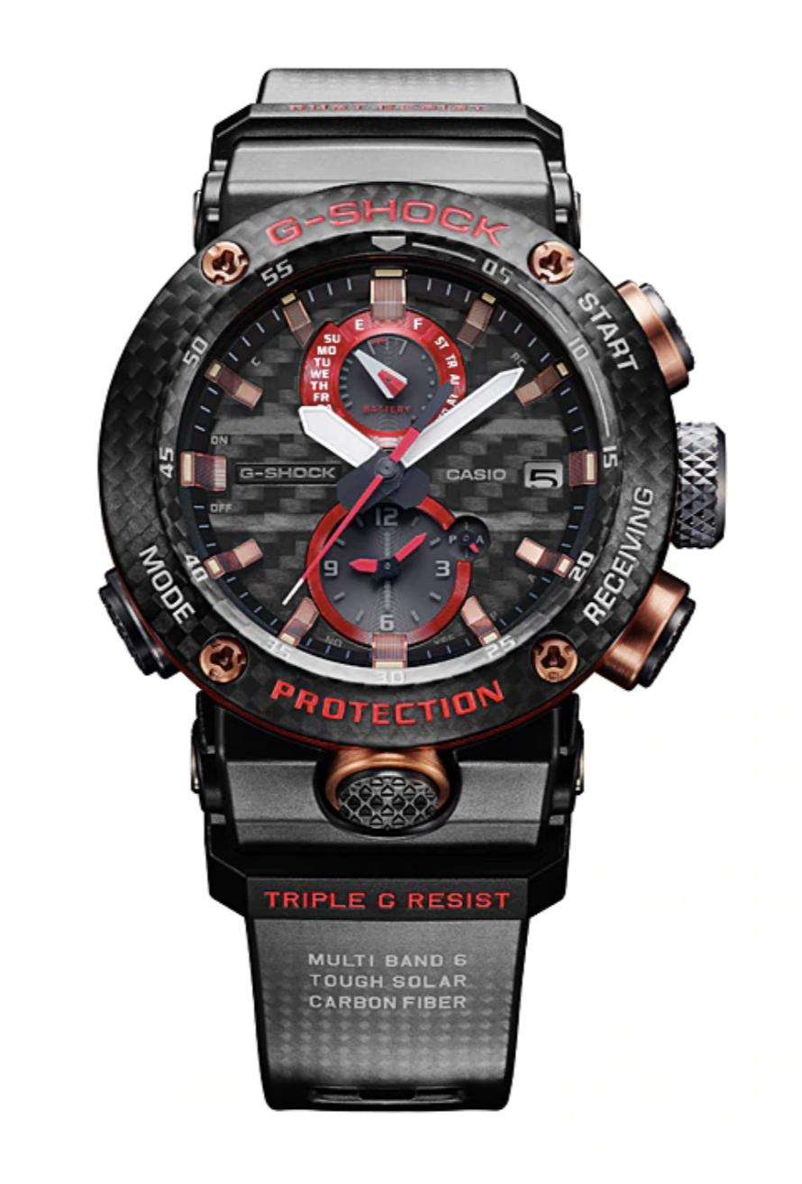 reloj digital fibra de carbono gravitymaster GWR-B1000X