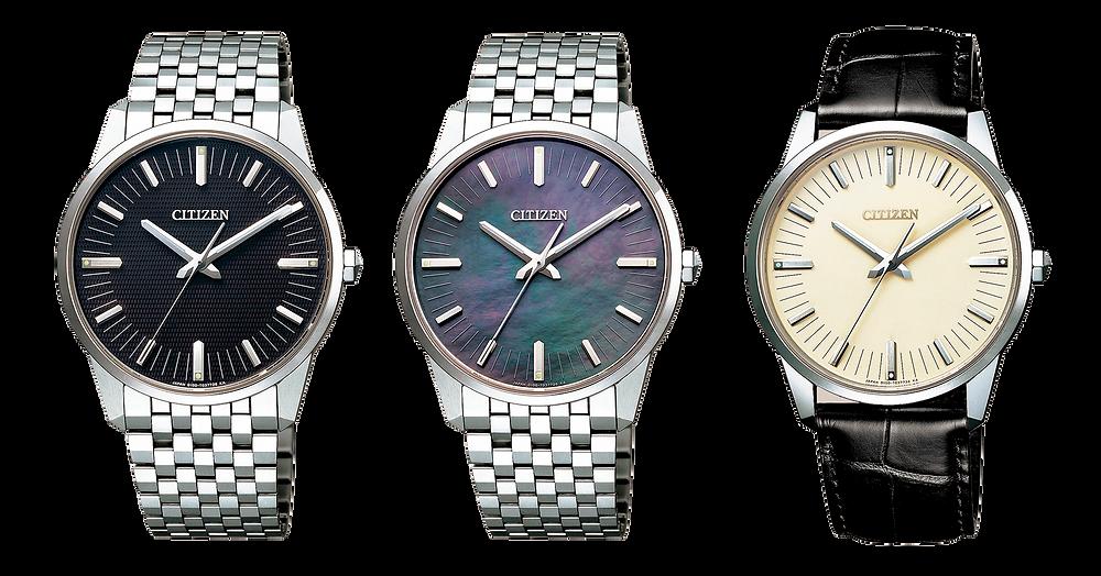 Reloj AQ6021-51E super titanio, eco-drive, calibre 0100 maxima precision