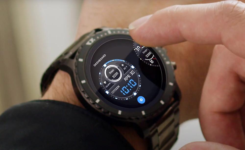 Novedad mundial relojes Citizen smartwatch CZ Smart MX0007-59X