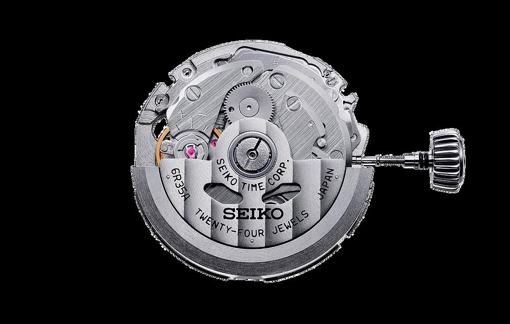 Calibre 6R35 automatico de Seiko, utilizado en los nuevos MM200 2020