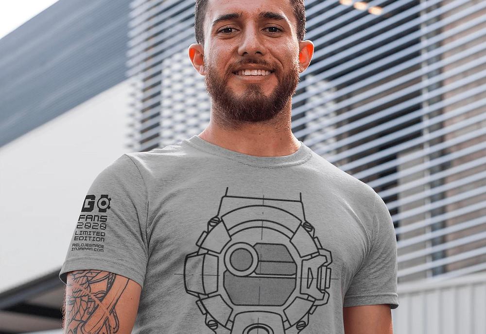 Camiseta edicion limitada 2020 Rangeman gw9400 tribute