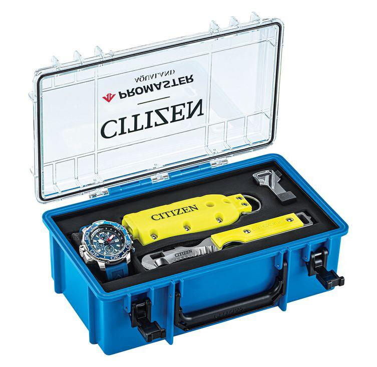 reloj submarinismo citizen promaster aqualand chrono bj2167-03e