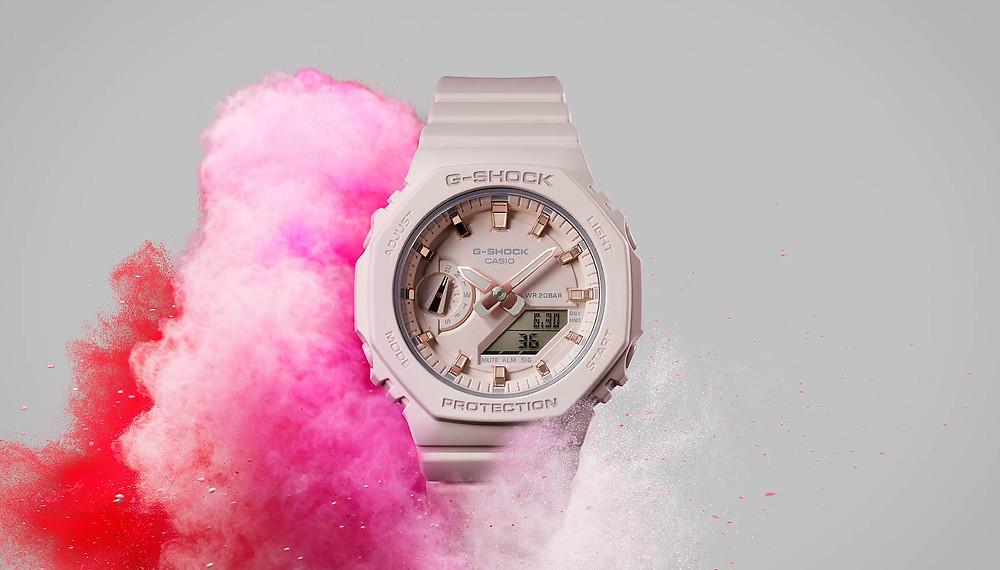 relojes casioak novedad para ella serie GMA-S2100