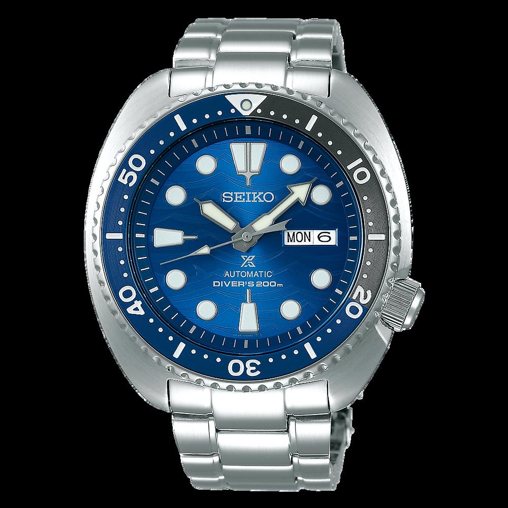 "reloj seiko prospex famoso ""save the ocean"" modelo SRPD21K1 propiedad de fabien cousteau"