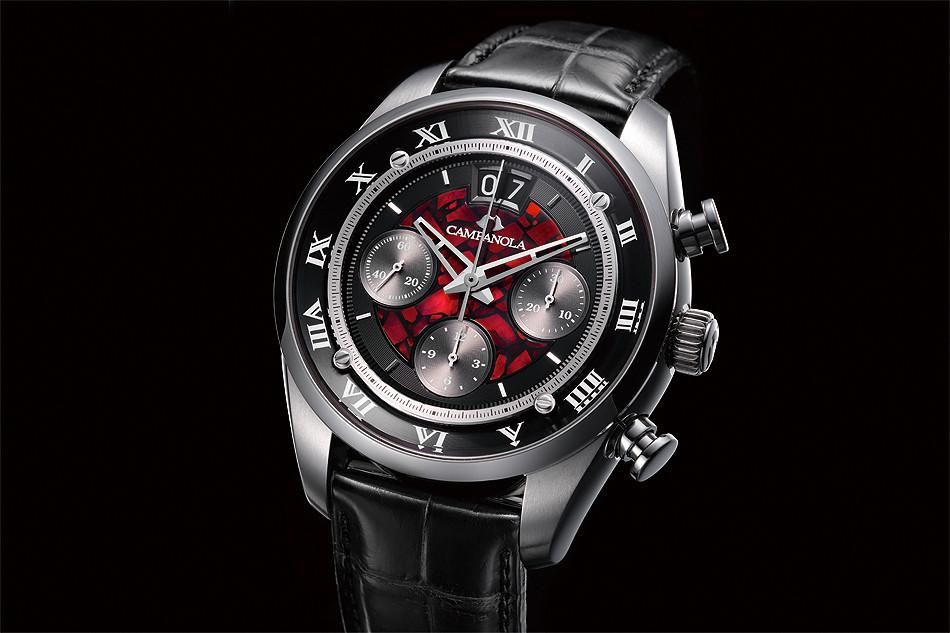 Reloj akta gama automatico japones Campanola NZ1001-17F 'moekamagi' edicion 20 piezas en el mundo