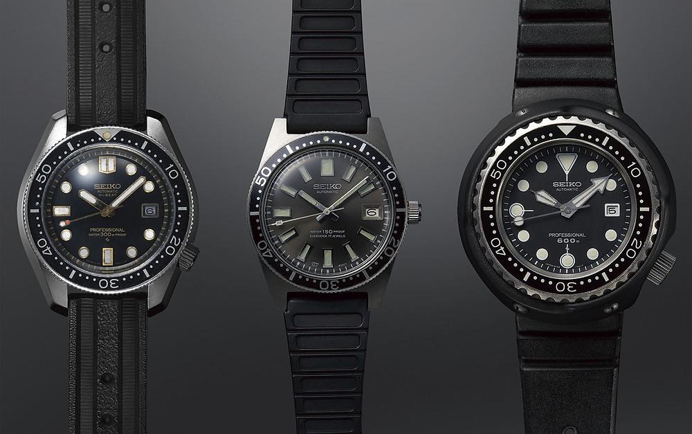 Seiko Diver's 55th Anniversary Trilogy relojes originales