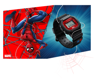 Reloj edicion limitada Spiderman Marvel G-Shock DW-5600SPIDER-1P